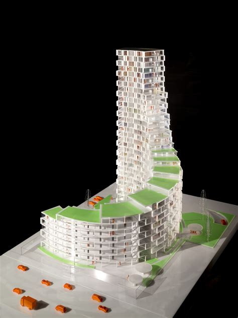 affordable housing designs gallery of 3xn designs affordable housing tower in denmark 4