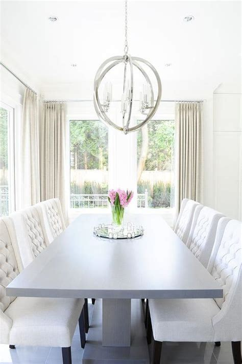 gray dining room table gray dining table white chairs design ideas