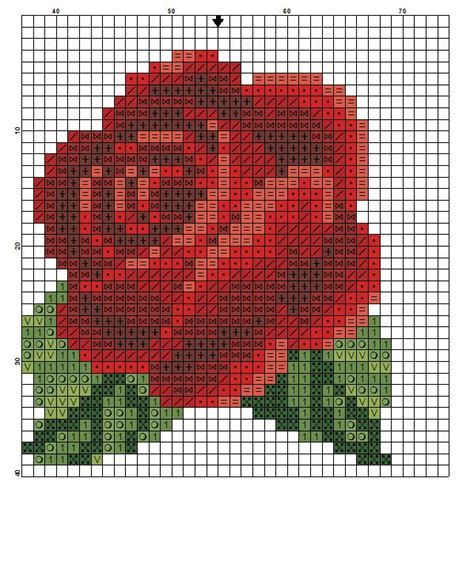 rose pattern name 17 best ideas about cross stitch tattoo on pinterest