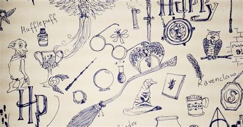 doodle harry potter hodgepodge company harry potter doodle
