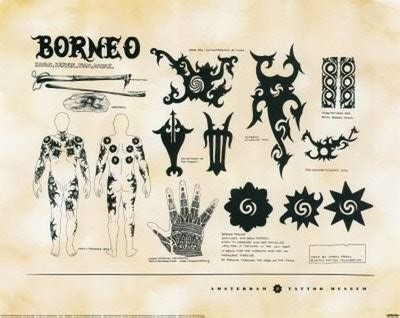 borneo tattoo tribal designs and meanings 35 pictures