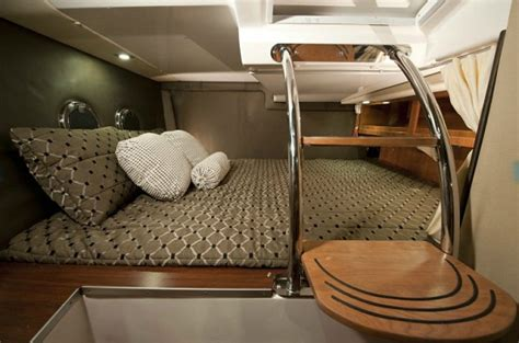 Curtains For Cabins High Style And Function In 2012 Trailered Cabin Cruiser