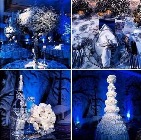 blue and silver theme blue and white wedding decor blue silver white wedding theme weddings