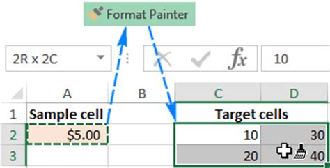 excel 2007 format painter multiple cells excel 2007 copy cell from another sheet excel formula to