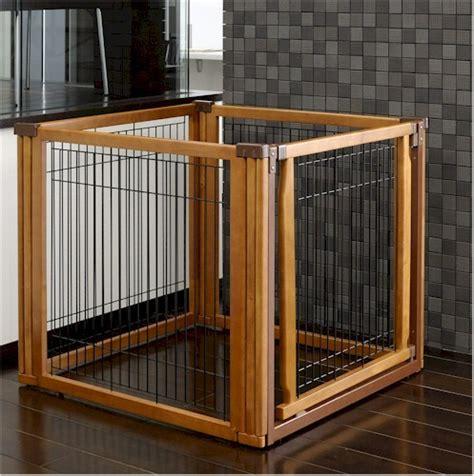 Convertible Elite Pet Gate 4 Panel Dog Pen Room Divider Pet Room Dividers