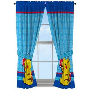 Shower Curtain As Drapes Pokemon Electric Ignite 82 Quot X 63 Quot Window Panels Walmart Com