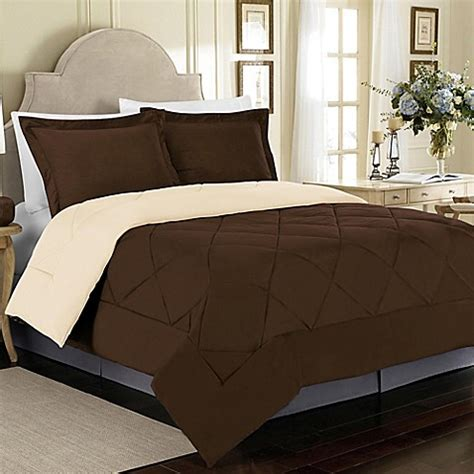 cream twin comforter buy solid 2 piece reversible twin comforter set in