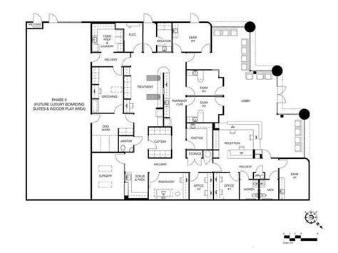 veterinary hospital floor plans 18 best images about animal hospital ideas on pinterest