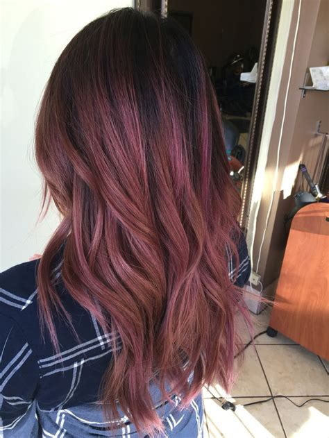 rose gold hair dye dark hair brown hair colors follow me and colors on pinterest of