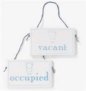 Diy Kitchen Ideas vacant occupied wooden hanging sign amazon co uk