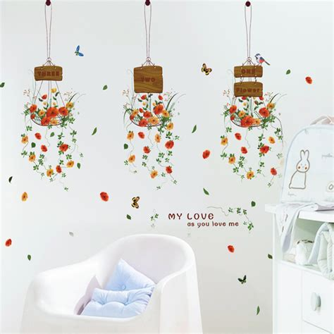Pot Bunga Jm7299 Stiker Dinding Wall Sticker 2 jendela tanaman pot promotion shop for promotional jendela tanaman pot on aliexpress