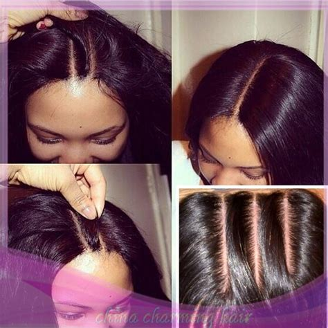 pictures of haistyles with 3 part silk closure 8a virgin brazilian straight human hair silk base closures