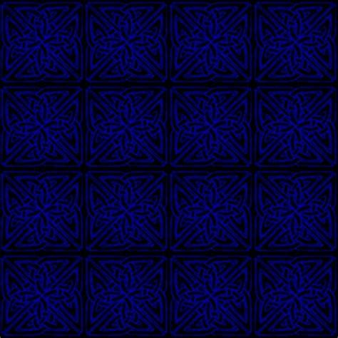 pattern black and blue pin black celtic squares seamless background pattern
