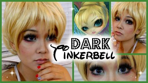 makeup tutorial tinkerbell dark tinkerbell makeup tutorial youtube