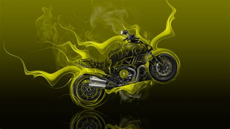 4k wallpaper for moto x moto ducati diavel side super fire flame abstract bike