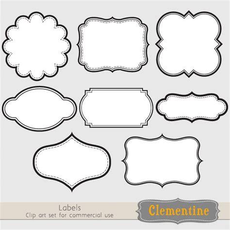 free label border templates image gallery label clip