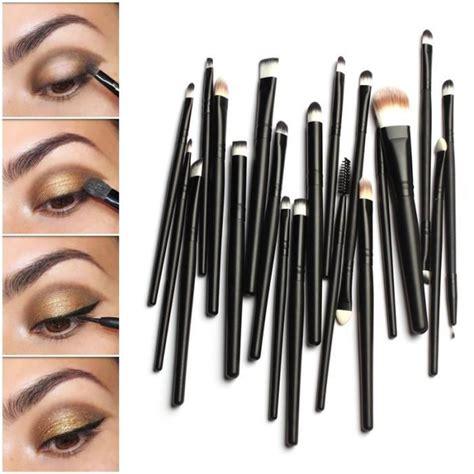 Eyeshadow C Brush Murah 20pcs maquillage brosses professionnel pinceaux de teint poudre fard yeux l 232 vres set achat