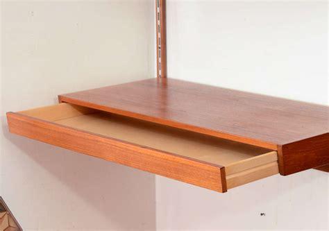 Danish Modern Wall Mounted Desk At 1stdibs Modern Wall Desk
