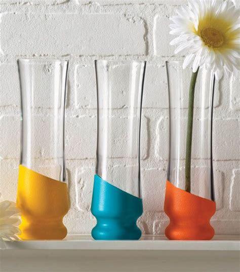 diy glass vase painted glass vase find folkart multi