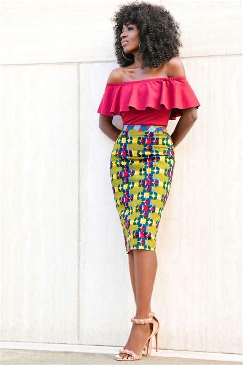 african pencil skirt styles 1000 ideas about ankara styles on pinterest nigerian