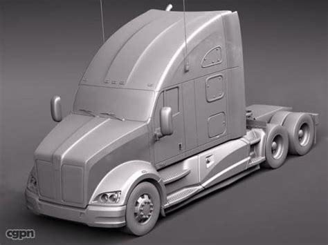 kenworth 2010 models kenworth t700 2010 3d model cgstudio