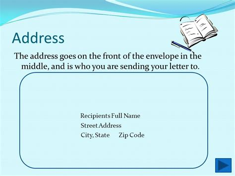 where does st go on envelope how to address an envelope ppt video online download