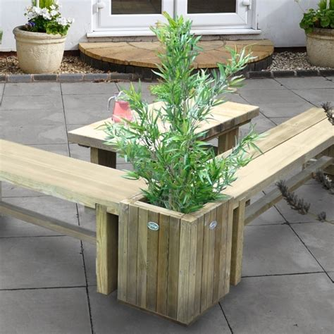 Sleeper Planters by Sleeper Planter Table