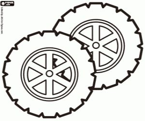 Wheel Coloring Page f1 formula 1 coloring pages printable
