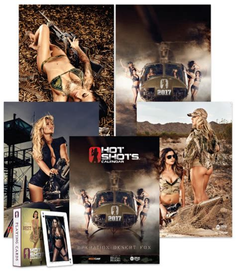 hot shots calendar 2017 hot shots 2017 calendar airsoft milsim news blog