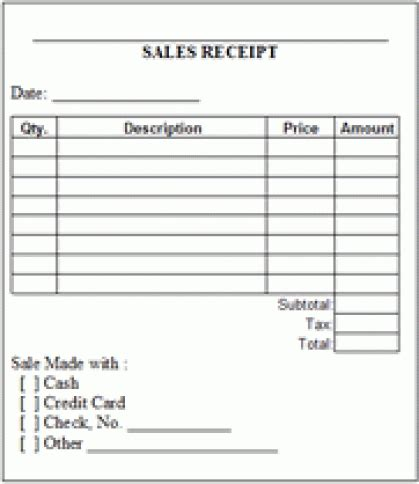 template sales invoice template templat form free