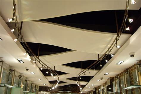 Retail Ceiling Design by Retail Store Ceiling Panels Covent Garden Architen Landrell