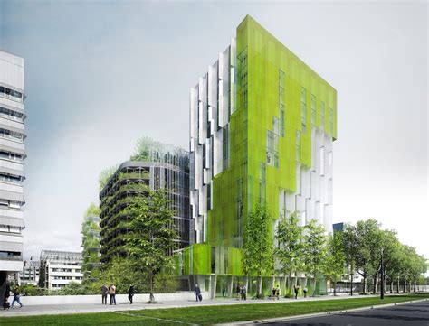 innovative design for a commercial green build in calgary trio of living green buildings reinvent paris as a
