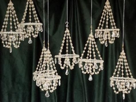 chandelier ornament mini chandelier ornaments glass bead chandeliers