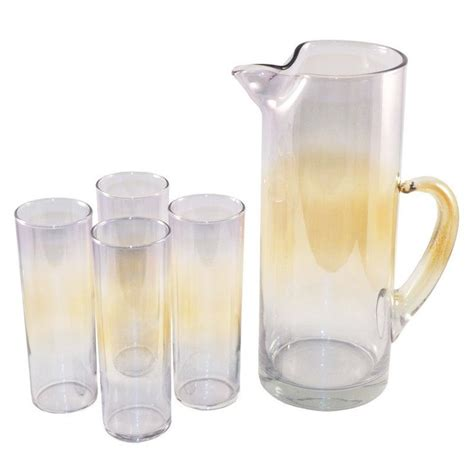 Glass Bar Pitcher 1000 Images About Vintage Pitchers Decanters On