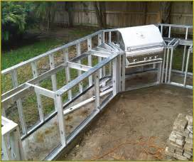 your home improvements refference build outdoor kitchen cheap how custom metal studs bbq grill island