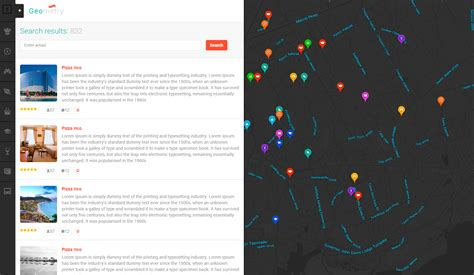 themeforest locations geometry html geolocation template v2 by matart