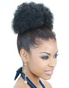 afro puff pocket bun hairstyles human hair afro puff ponytail kind of hair extensions