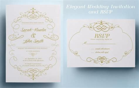 printable wedding invitation design elegant wedding invitation template classic wedding