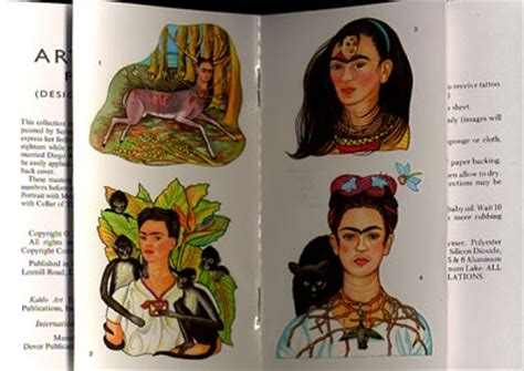 frida kahlo art tattoos