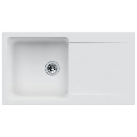 Franke Orion OID 611 94 Tectonite 1.0 Bowl Polar White