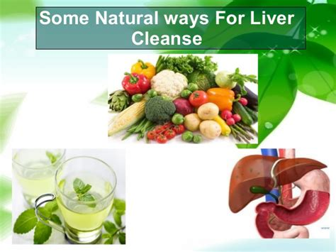 Herbal Ways To Detox Liver by Some Ways For Liver Cleanse