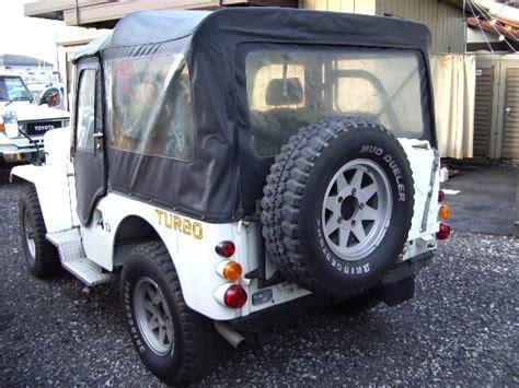 mitsubishi jeep for sale mitsubishi jeep turbo j53 for sale japan car on track