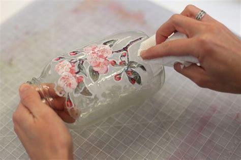tutorial decoupage italiano barattoli decorati a decoupage il blog italiano sullo