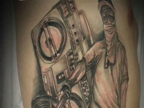 hip hop tattoos designs 25 rad gangster ideas