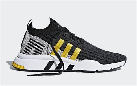 Adidas Eqt Cushion Pack Black White adidas eqt cushion adv yellow stripes cq2375 cq2999 sneakerfiles