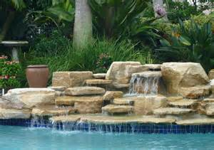 pool waterfalls ideas swimming pool waterfall designs pool design ideas