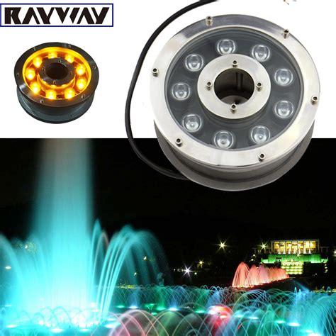 submersible led fountain lights 6w 12w 18w underwater pond light ip68 white warm white
