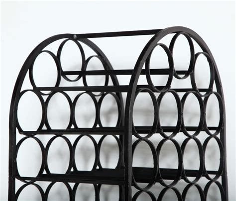 wrought iron wine rack at 1stdibs