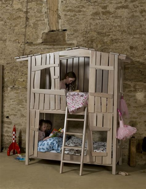 house bunk bed tree house bunk bed kiddos pinterest