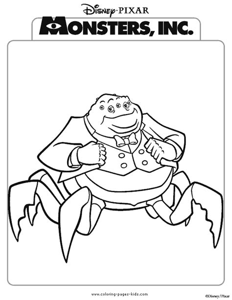 free printable coloring pages monster inc monsters inc coloring pages coloring pages for kids